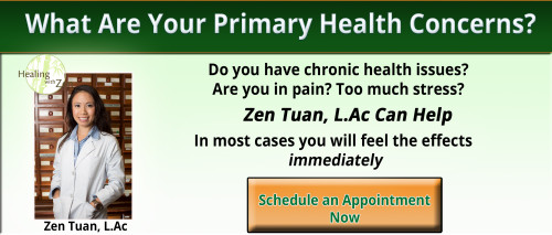 Zen Tuan L.Ac Acupuncturist in pasadena specializing in hormones and increasing immune system